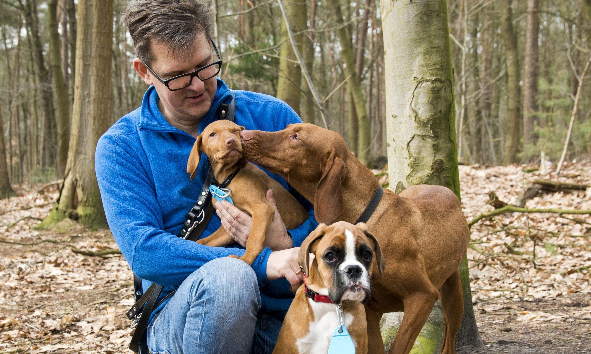 Contact met hondenuitlaatservice Mee met Hans